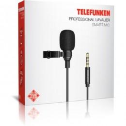 Microfone de Lapela Telefunken Tfsmartmic 3.5mm Pt