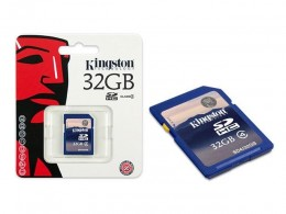 Cartao de Memoria 32gb Kingston Sd4/32gb Secure Digital 32gb Classe 4