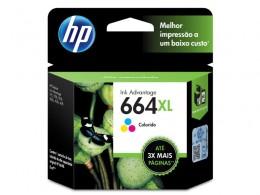 Cartucho HP 664XL F6V30AB HP 664XL Tricolor 8,0 Ml